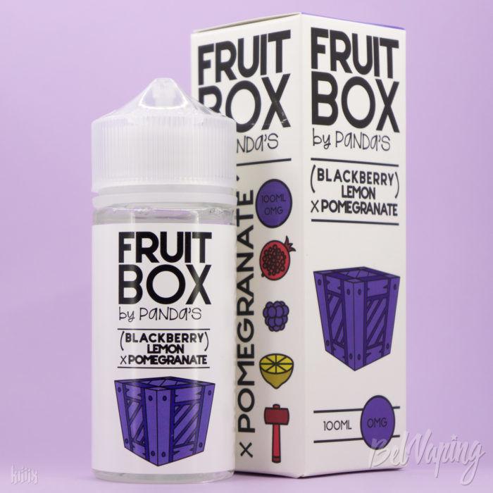 Жидкость Fruit Box - Blackberry Lemon Pomegranate от Panda's Juice