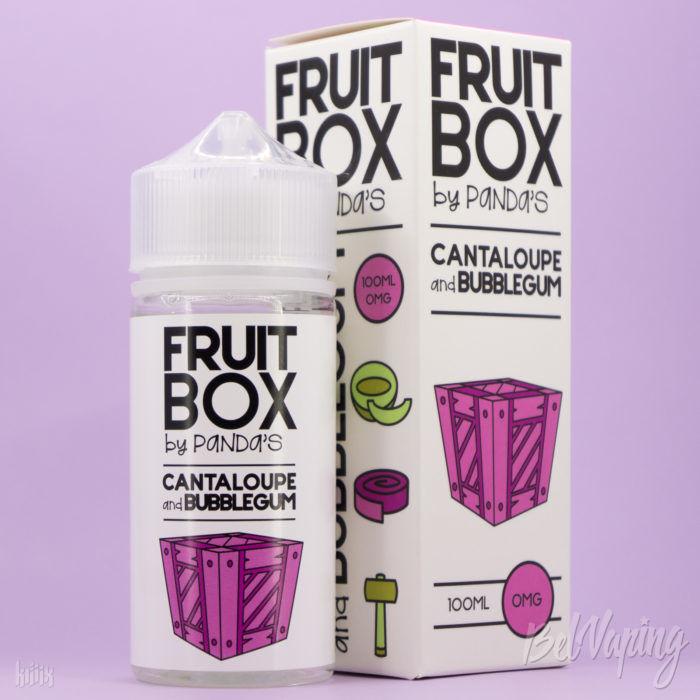 Жидкость Fruit Box - Cantaloupe and Bubblegum от Panda's Juice