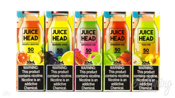 Жидкости Juice Head SALTS