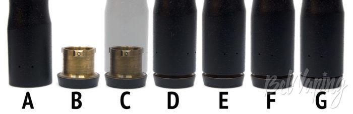 Клон механического мода RAVEN - работа кнопки