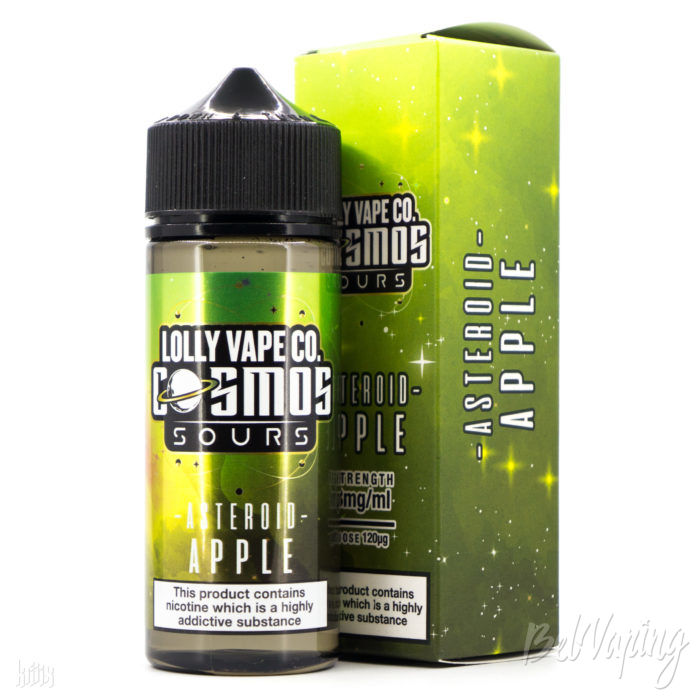Жидкость Lolly Vape Co. Cosmos Sours - Asteroid Apple