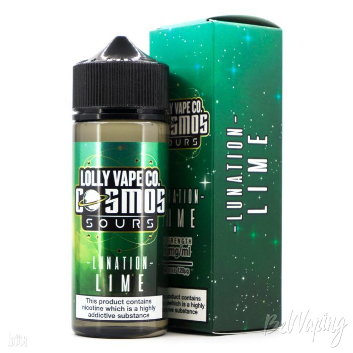 Жидкость Lolly Vape Co. Cosmos Sours - Lumination Lime