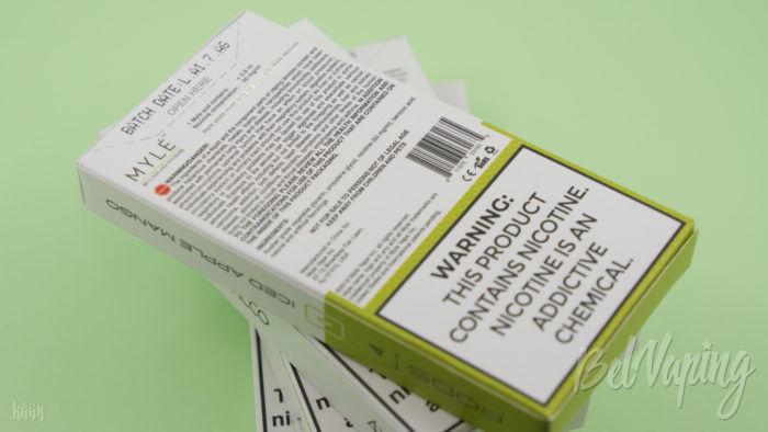 Упаковка картриджей для MYLÉ