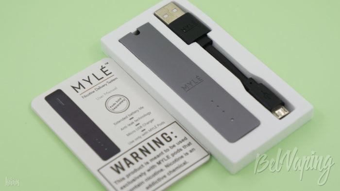 Комплектация MYLE VAPORS Starter Kit
