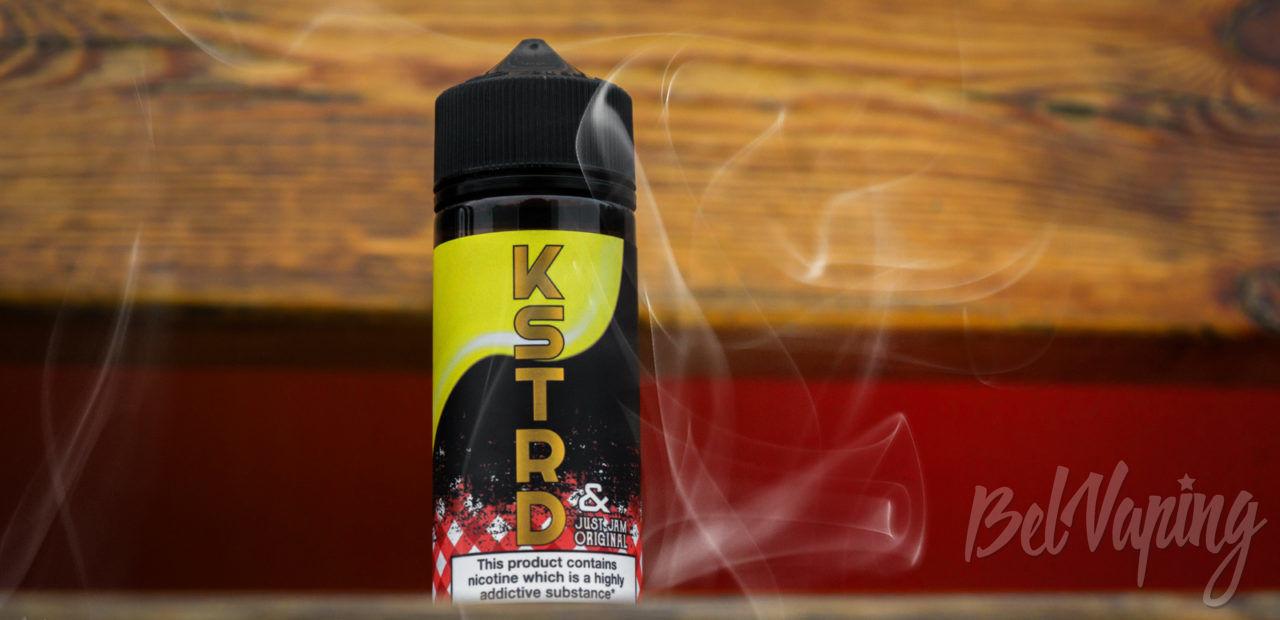 Обзор жидкости KSTRD & Just Jam Strawberry