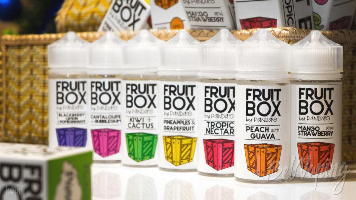 Обзор жидкости Fruit Box от Panda's Juice