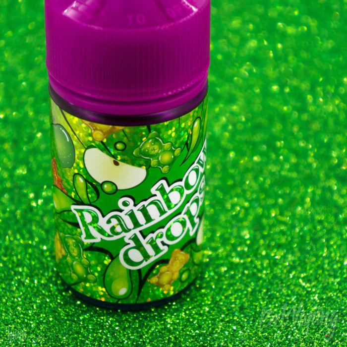 Этикетка жидкости Rainbow Drops от Дядя Вова Presents