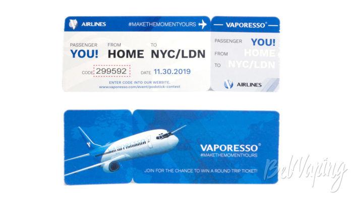 Vaporesso PODSTICK - билет