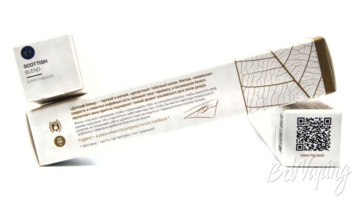 Жидкости FOGLAND - информация на упаковке