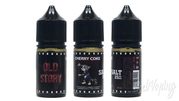 Жидкости OLD STORY - вкус CHERRY COKE