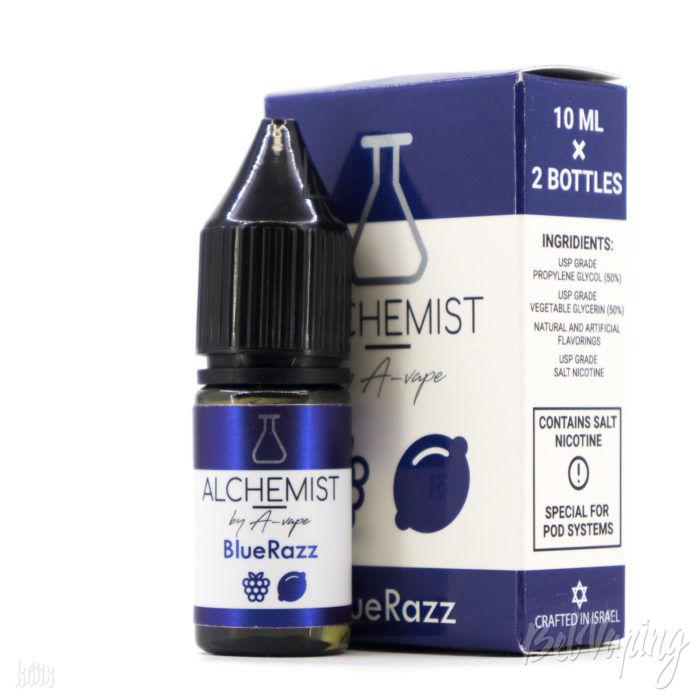 Жидкость Alchemist Salt — Blue Razz