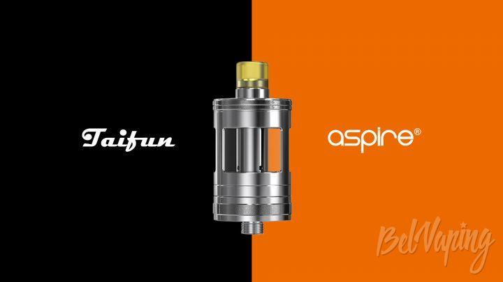 Aspire & Taifun Nautilus GT Tank. Первый взгляд