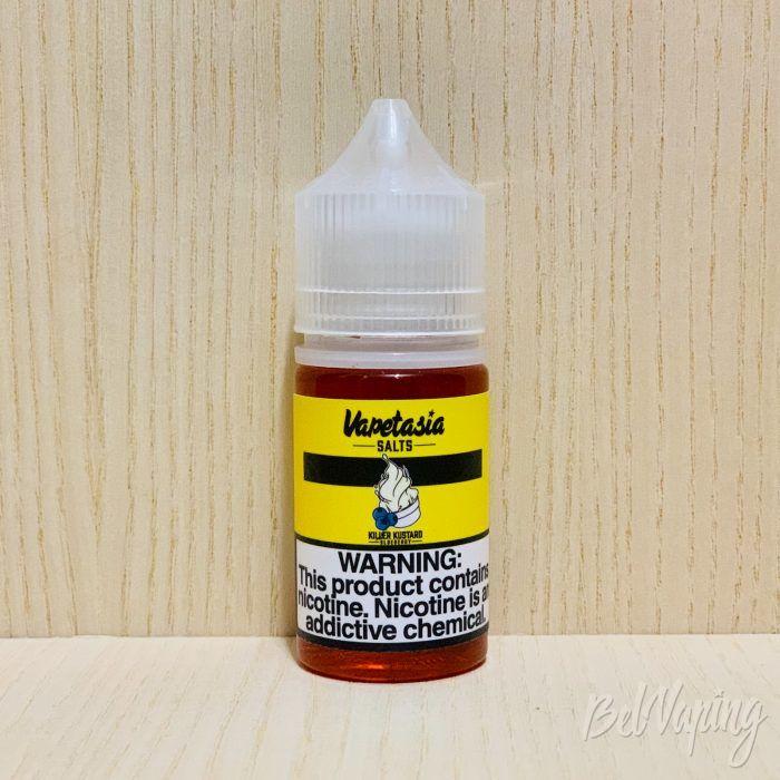 Жидкость Killer Kustard от Vapetasia Salts - Blueberry