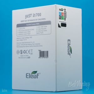 Упаковка Eleaf iJust 21700