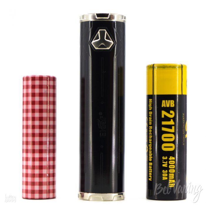 Батарейный блок Eleaf iJust 21700 и аккумуляторы 18650 и 21700