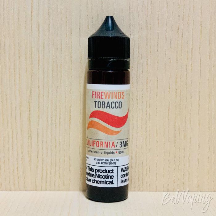 Жидкость Firewinds Tobacco — California