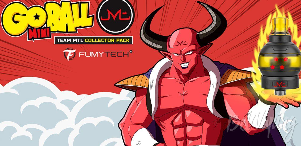 Fumytech GoBall Mini MTL. Первый взгляд