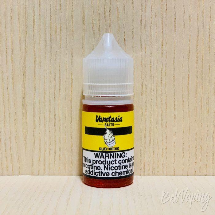 Жидкость Killer Kustard от Vapetasia Salts - Kustard