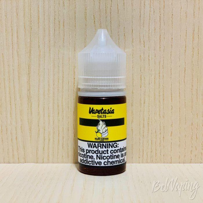 Жидкость Killer Kustard от Vapetasia Salts - Lemon