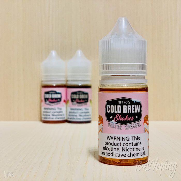 Жидкость Nitro's Cold Brew Shakes - Salted Caramel