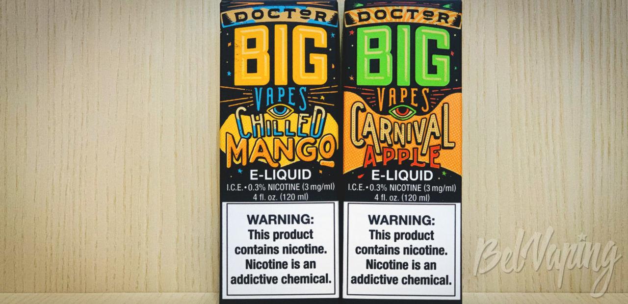 Обзор жидкости Doctor Big Vapes от Big Bottle Co.