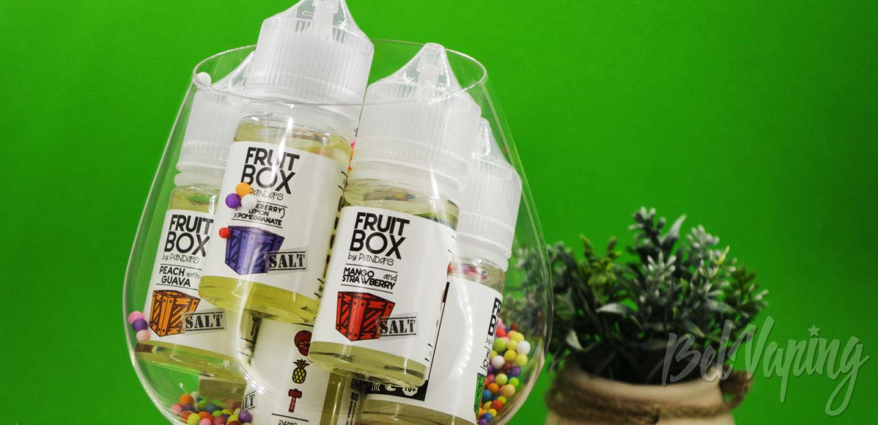 Обзор жидкости Fruit Box Salt от Panda's Juice