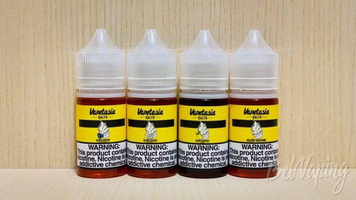 Обзор жидкости Killer Kustard Salt Nic E-Juice от Vapetasia