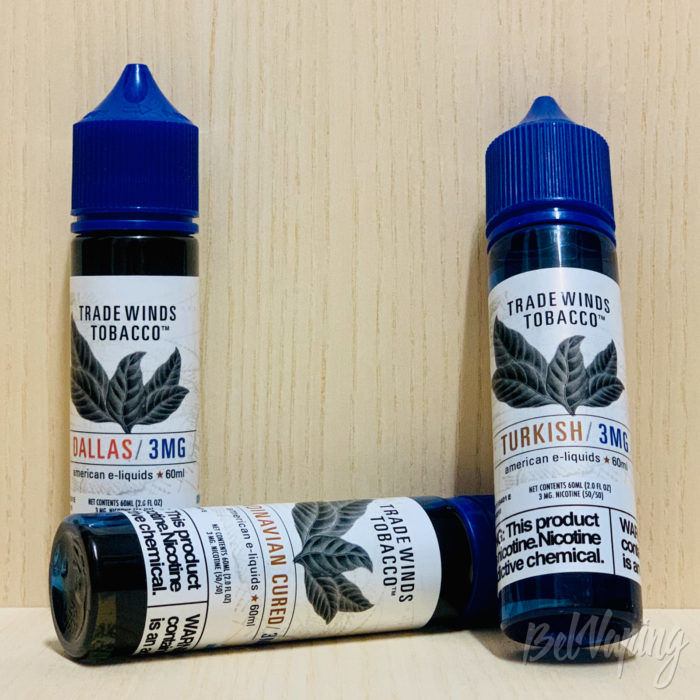 Жидкости Tradewinds Tobacco от NicVape