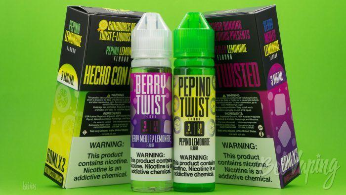 Жидкости Twist E-Liquids от Daddy's Vapor