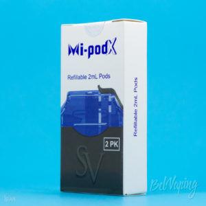 Упаковка картриджей Mi-Pod X от Smoking Vapor