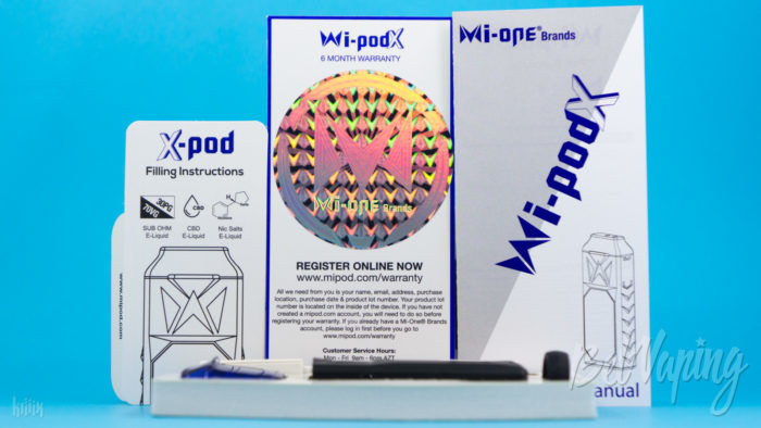 Комплект Wi-Pod X Kit от Smoking Vapor