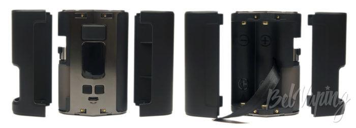 Wotofo DYADIC Box Mod - крышки