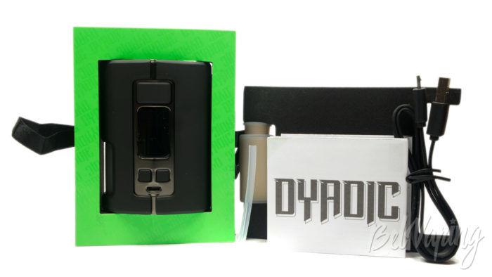 Wotofo DYADIC Box Mod - комплект поставки