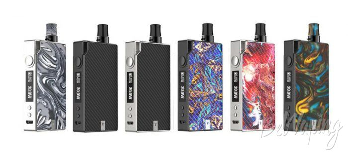 Цвета Vaporesso DEGREE Pod Kit