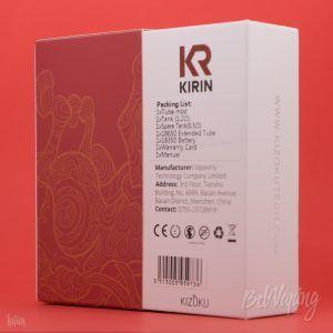 Упаковка KIZOKU Kirin MTL Pod Kit