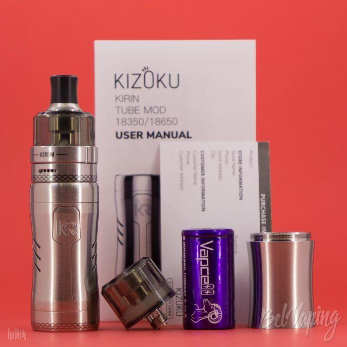 Комплект KIZOKU Kirin MTL Pod Kit