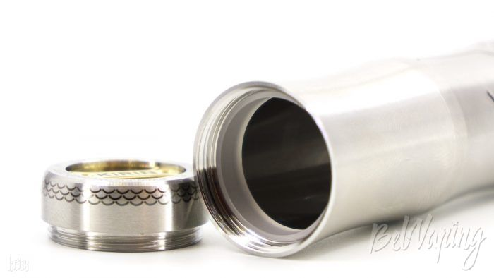 Изолятор в удлинителе под 18650 для KIZOKU Kirin Tube Mech Mod