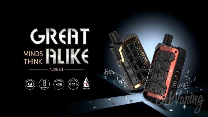 SMOK Alike Kit. Первый взгляд