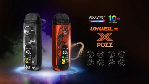SMOK Pozz X Pod. Первый взгляд