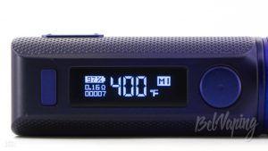 Индикация SWAG 2 Mod в режиме термоконтроля