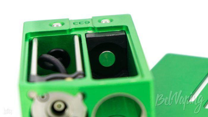 Плюсовой контакт в Sunbox E8 Moonraker от SXK