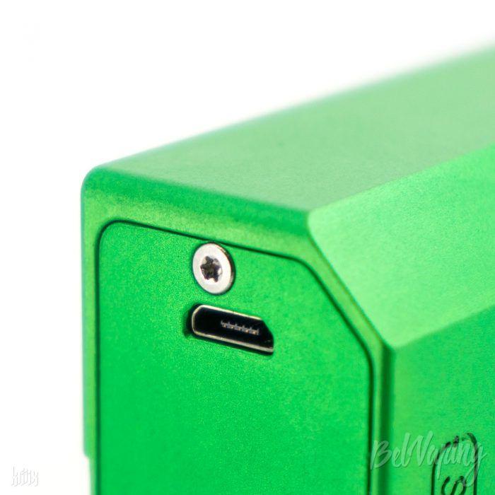 Разъем micro USB в Sunbox E8 Moonraker от SXK