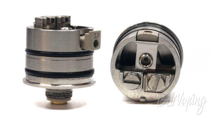 Vandyvape BSKR v2 MTL RDA - установка воздуховода и стойки