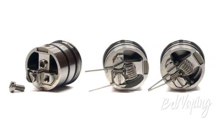 Vandyvape BSKR v2 MTL RDA - установка койла