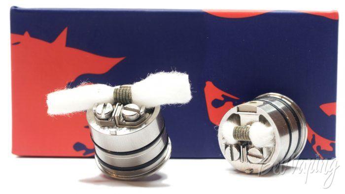 Vandyvape BSKR v2 MTL RDA- укладка хлопка