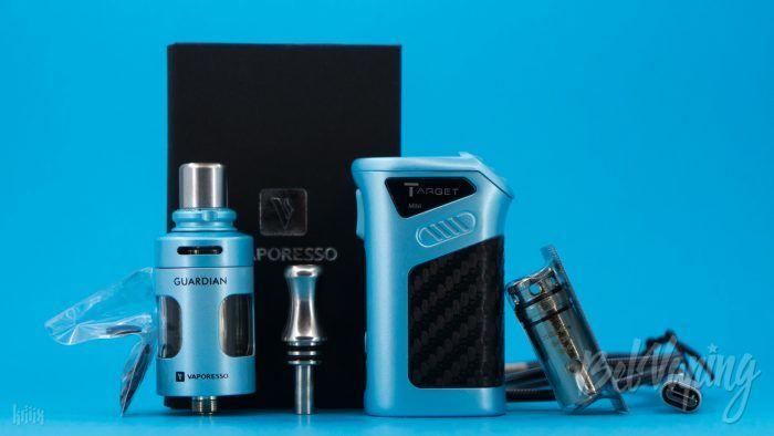 Комплектация набора Vaporesso Target Mini Kit