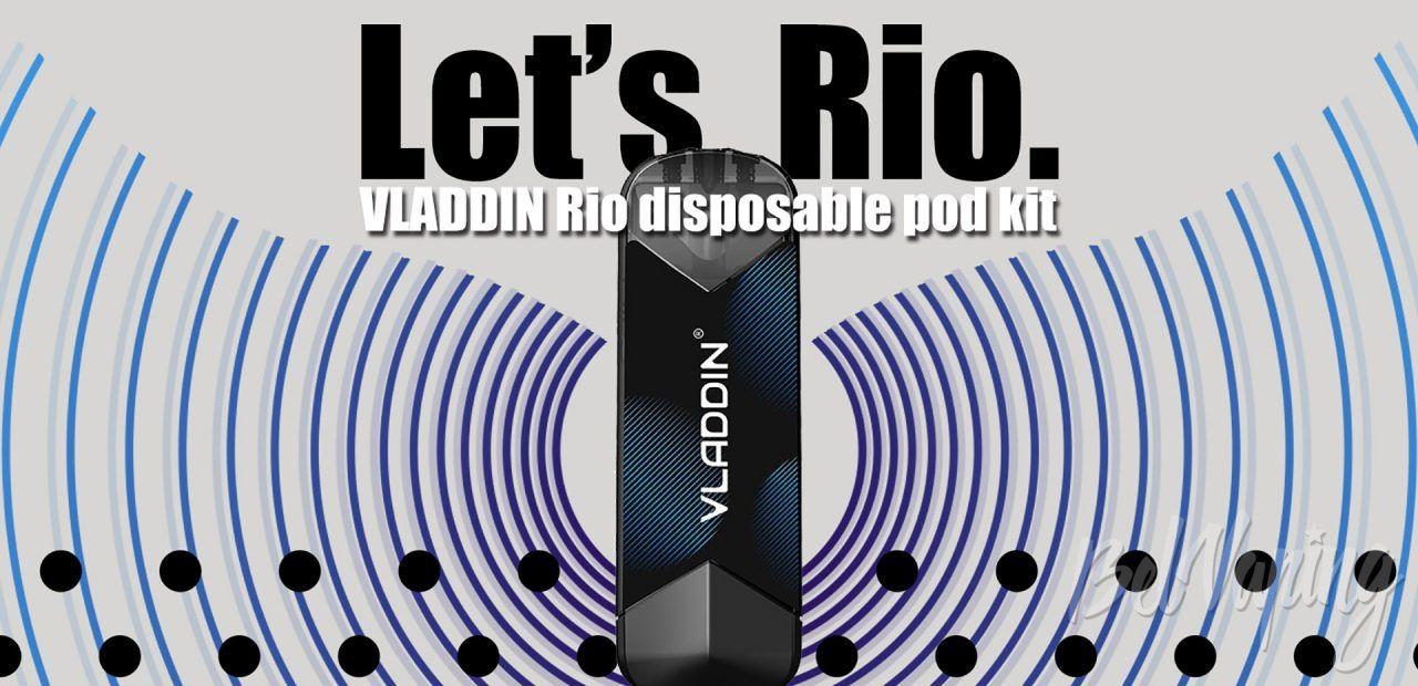 Vladdin RIO Disposable Pod. Первый взгляд