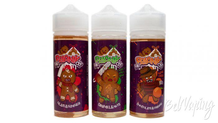 Жидкости mr.PRIANIKoff от Red Smokers