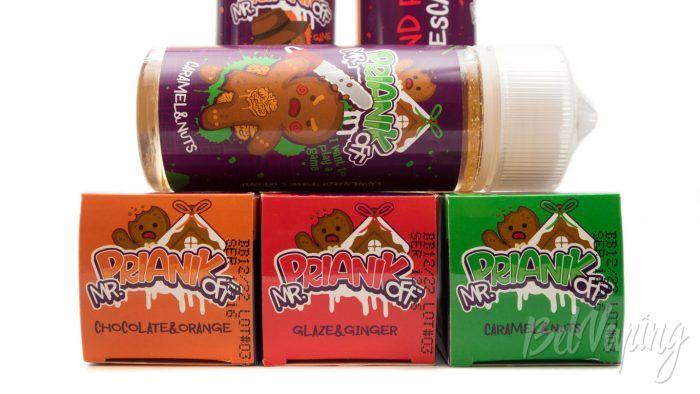 Жидкости mr.PRIANIKoff от Red Smokers - содержание никотина