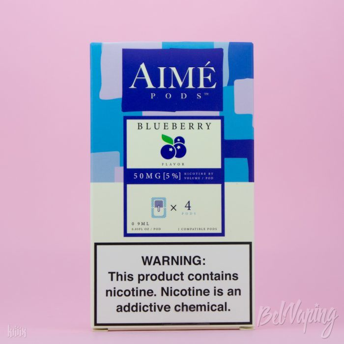 Картриджи AIME PODS - BLUEBERRY